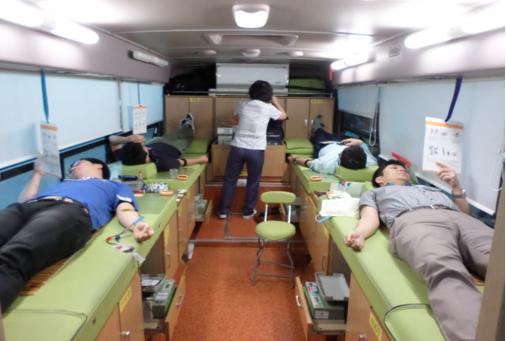 [회사소식] 유니셈 사랑나눔 헌혈행사, '사랑의 헌혈 Relay'