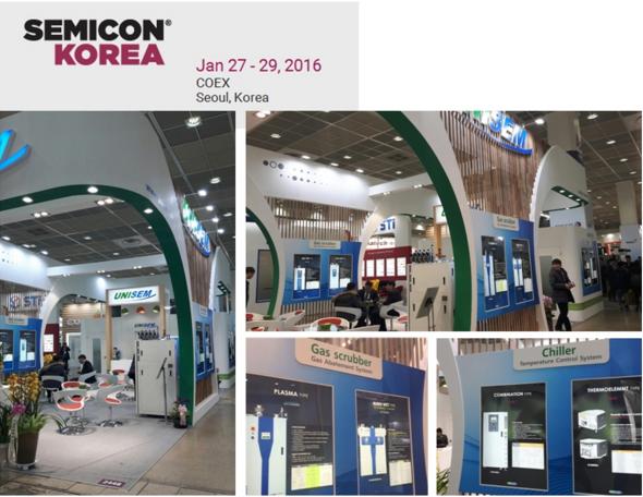[회사소식] 유니셈(주) 세미콘 코리아 2016 참가
